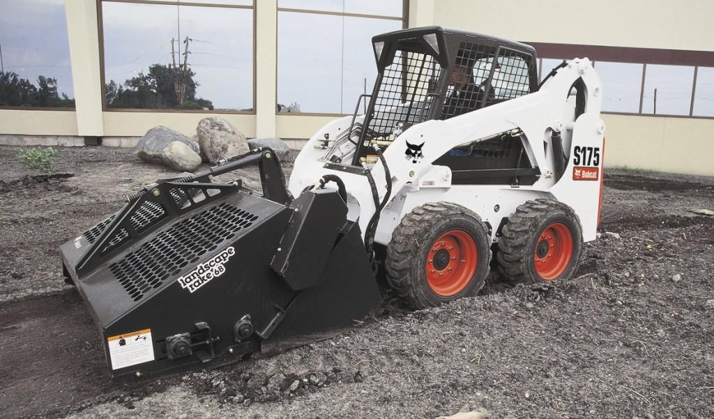 Bobcat Landscape Rake Rental : Rental equipment brookings